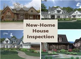 Four new homes illustrating article on professional home inspections