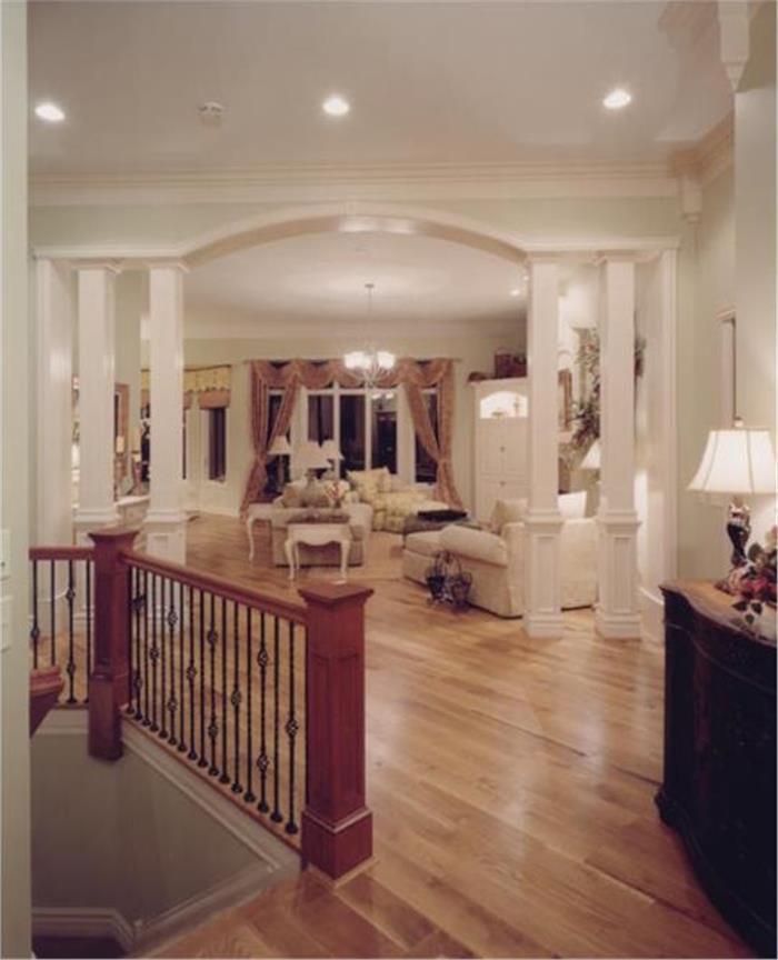 Photo of an open floor plan