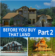 Tips for Buying Land Before You Search for House Plans– Part 2 Blog Post Image
