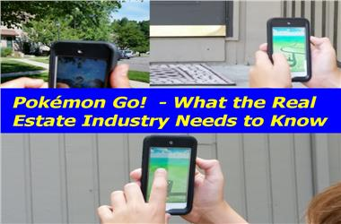 Article Category 8 Things the Real Estate Industry Should Know about Pokémon Go