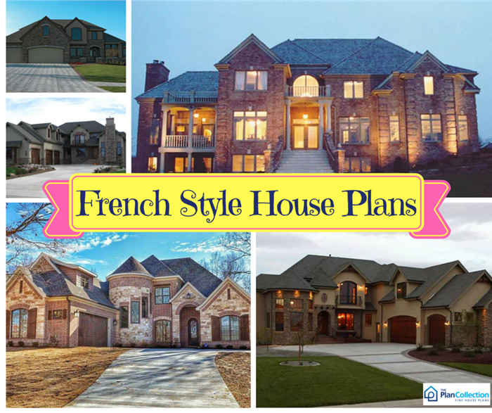 Luxury French Country Style Homes