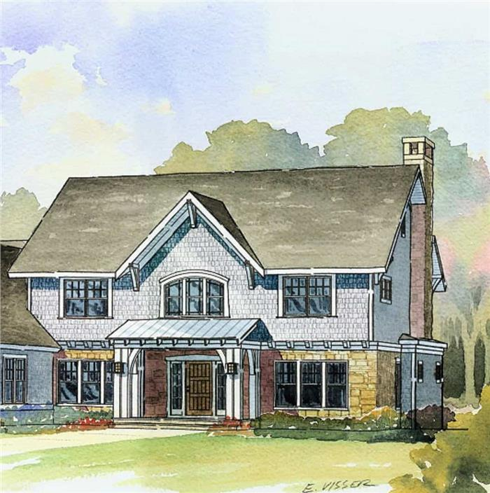 Luxurious country style manor
