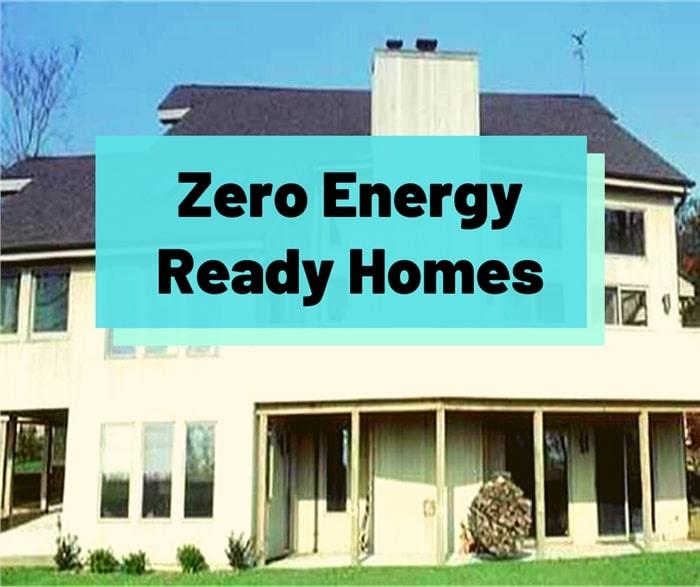 House with lots of south-facing windows illustrating article about Zero Energy Ready Homes