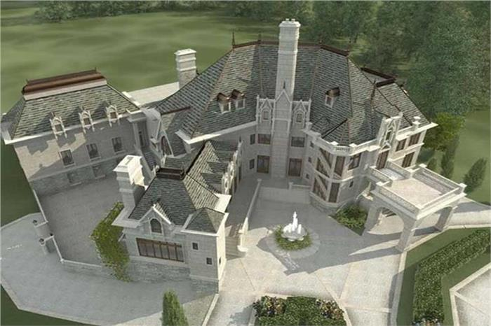 Luxury French Chateau - Manor Style Homes