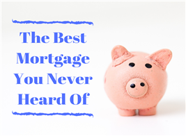 Piggy bank illustrating article about easy financing with USDA home loan