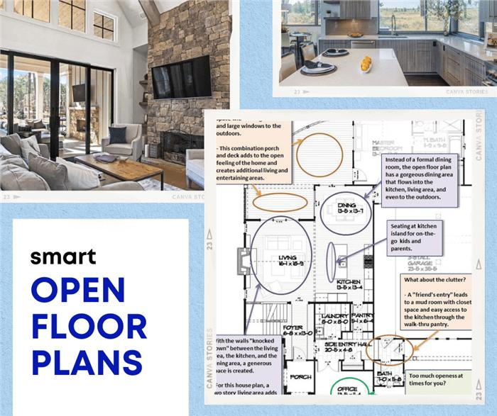 Smart Open Floor Plans