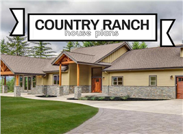Photograph illustrating article on Country Ranch House Plans