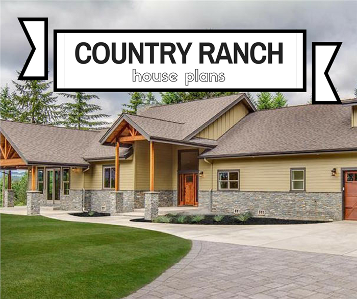 Country Ranch House Plans: Rustic Estate Style without Stairs on ranch house roofline, ranch house clerestory, ranch house wall, ranch house window, ranch house cupola, ranch house stairs, ranch house spire, ranch house foundation, ranch house slate, ranch house lighting, ranch house roof, ranch house carport, ranch house siding,