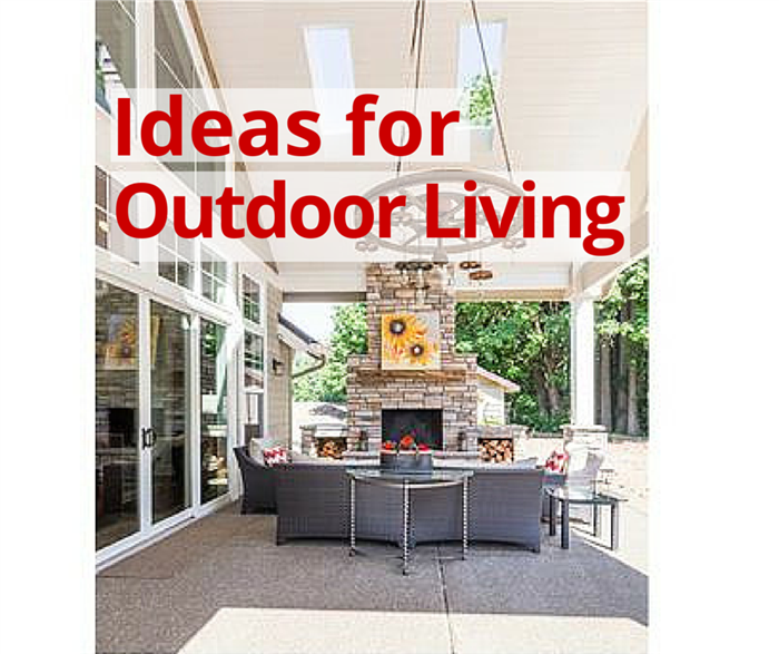 Color Photo Illustrating Outdoor Living