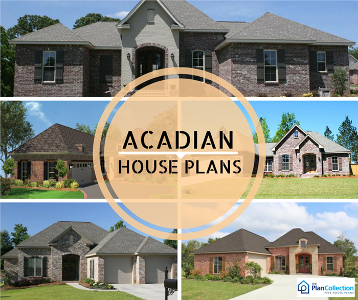 Acadian House Styles | The Plan Collection