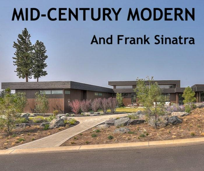 Mid-Century Modern style home illustrating article on Sinatra's house in Plam Springs