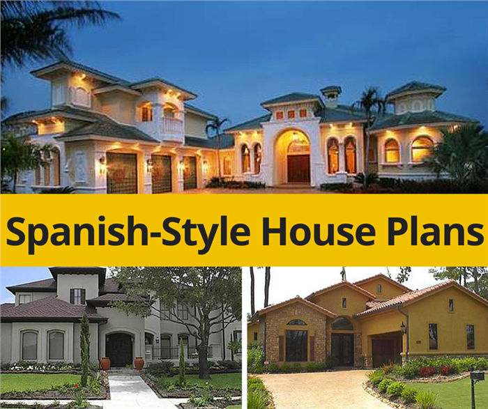 Spanish House Plans Capture The Appeal And Essence Of The Mediterranean