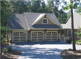 3-car garage plan #163-1012