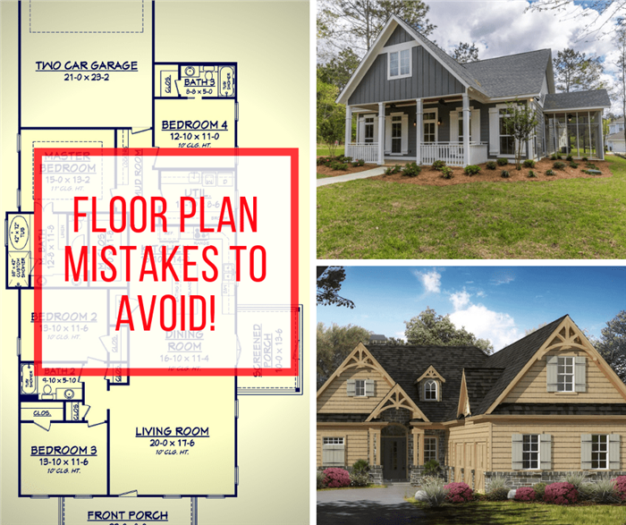 7 Floor Plan Mistakes To Avoid In Your New Home Design