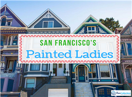 Image illustrating an article about San Francisco's Victorian homes
