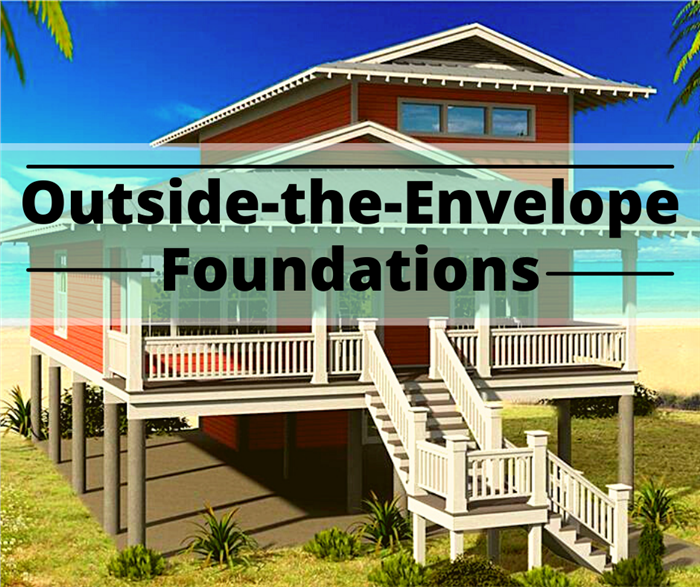 Home with raised foundation illustrating article about out-of-the-ordinary foundations