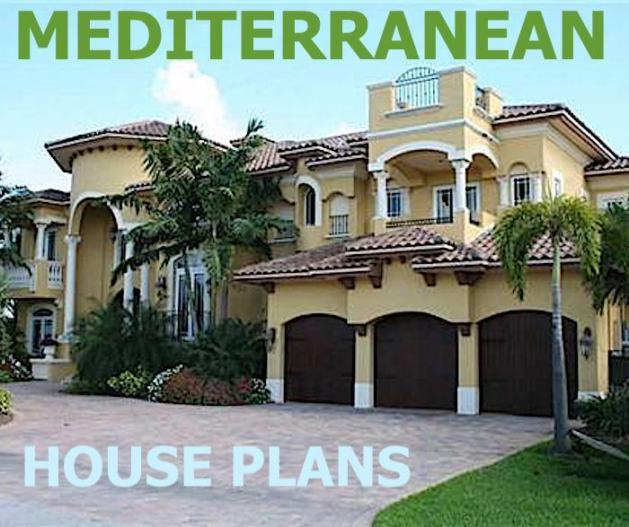 Colorful Exotic And Bold Lines Define The Mediterranean House Plan