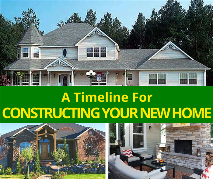 3 homes illustrating article about building your home