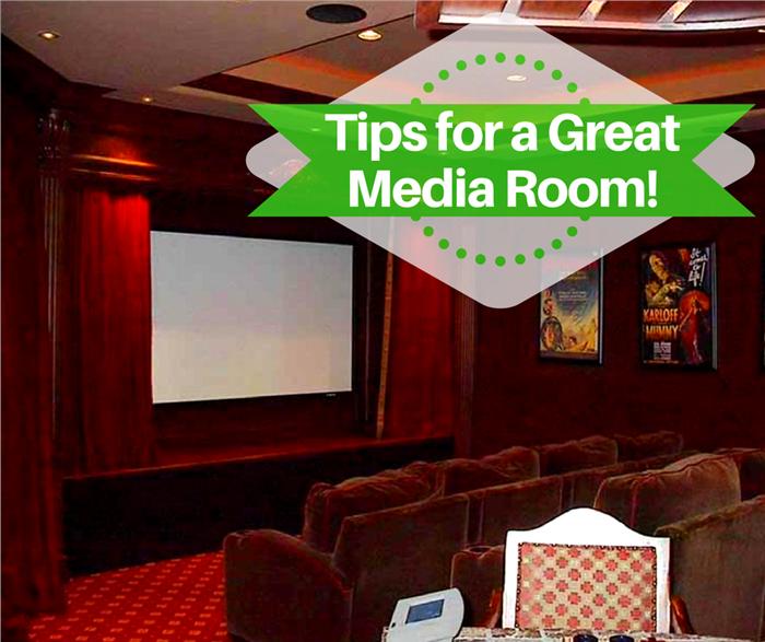 Media Room in House Plan #134-1355