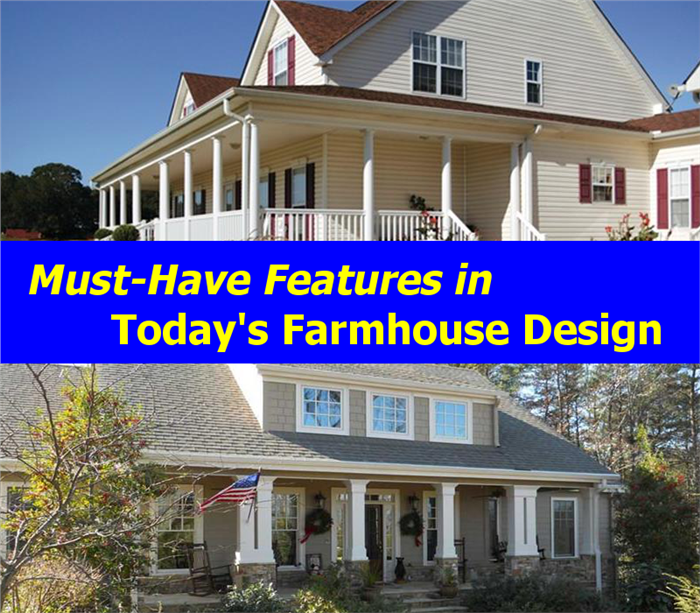 Must-Have Features in Today's Farmhouse Design