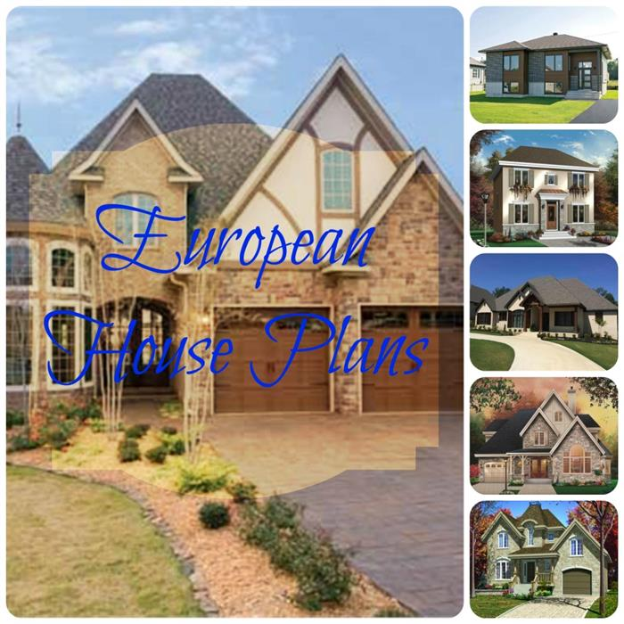 European Luxury Homes - Large and Small