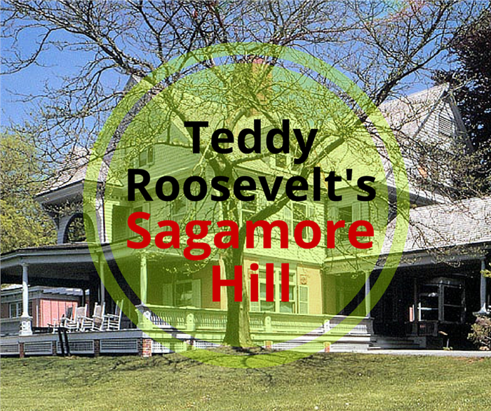 Photo of Sagamore Hill with article title