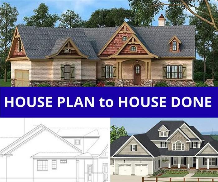 From House Plan To House Done The Thrill Of Building Your