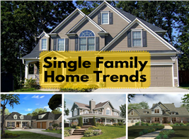 Collection of photos illustrating Single Family Homes