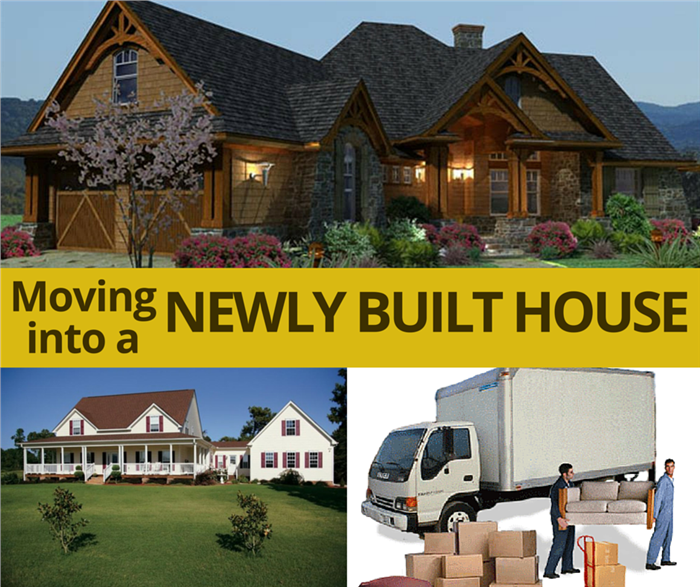 tips for moving into a newly built house