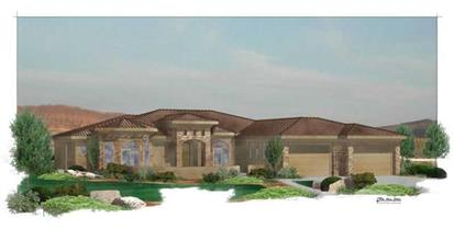 TPC style Southwest House Plans