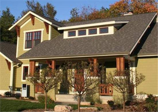 Browse Our Craftsman House Plans