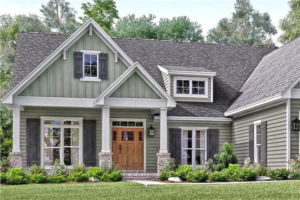 Country House Plans With Traditional American Styles