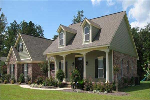 Southern house plans southern style homes the plan for Southern country house plans