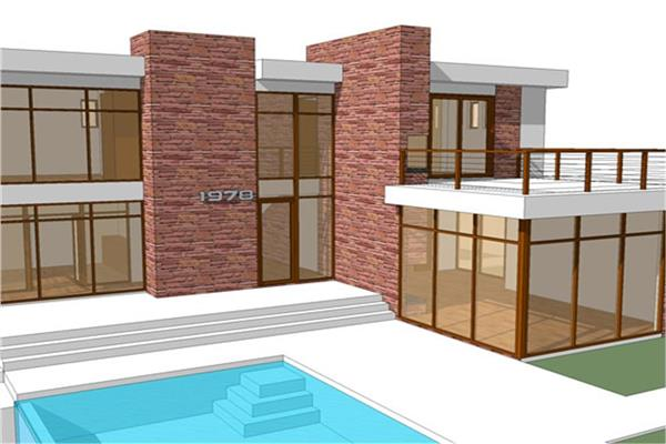 Modern house plans with photos modern house designs Modern villa plan
