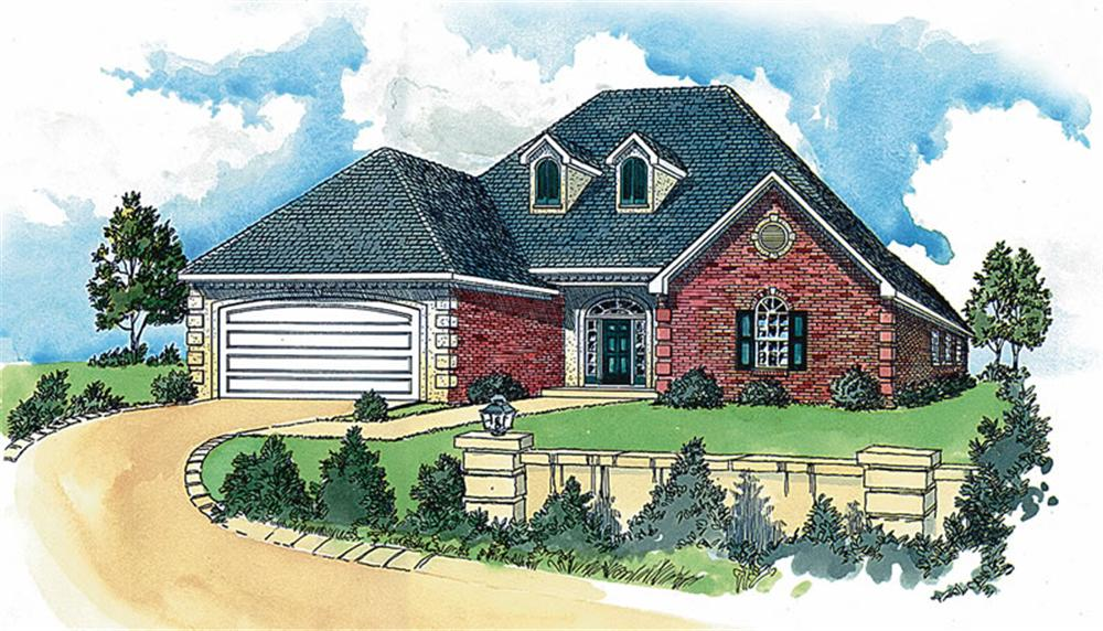 French Style Houses And House Plans The Plan Collection