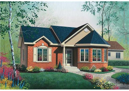 Bungalows House Plans Under 1000 Square Feet