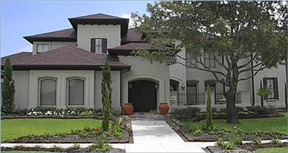 Beautiful home in the California style of architecture. This house has Spanish Mission architectural influences.