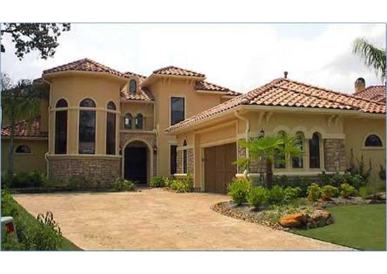 Spanish Style Houses And House Plans - The Plan Collection