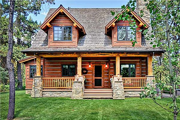 Cabin Plans & Log Home Plans | The Plan Collection