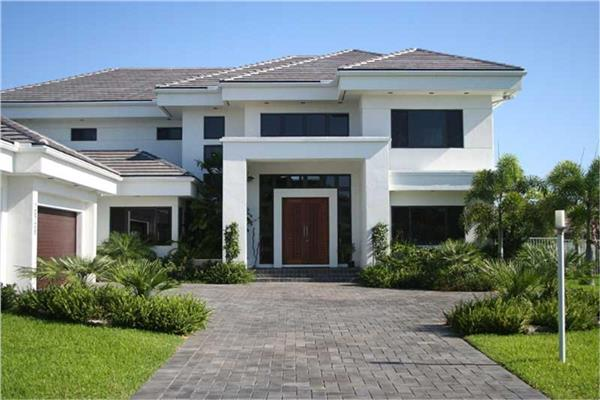 House Plan This Exclusive Home A Modern Florida Style House Plan