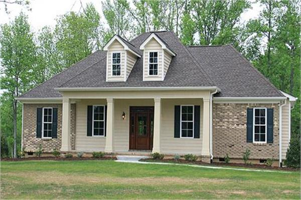 Country House Plans on single story rustic house plans