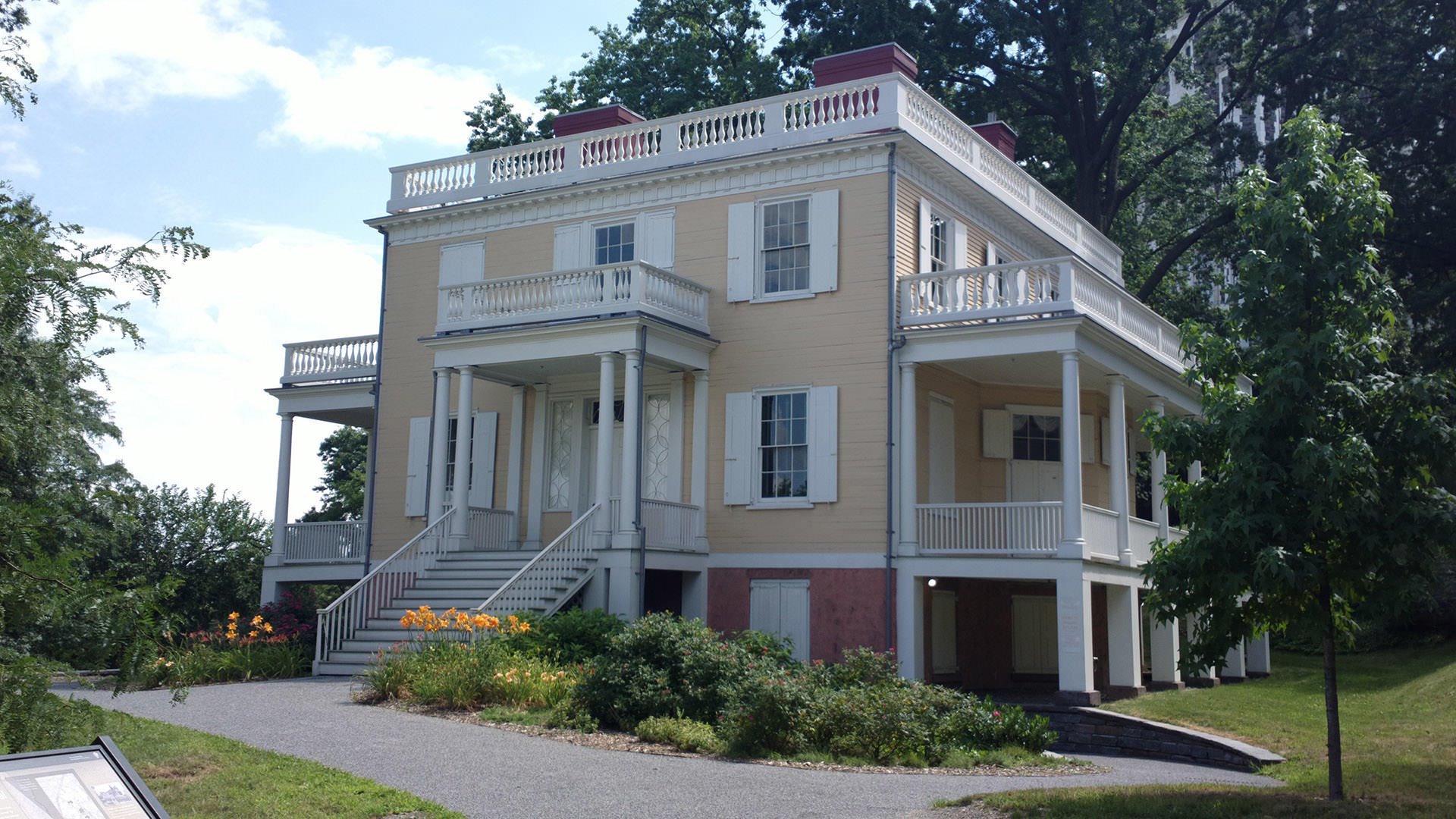Alexander Hamilton's Grange estate home