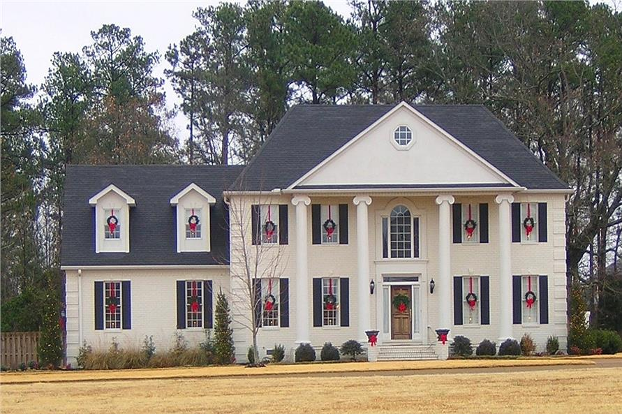 Colonial style House Plan #170-2549