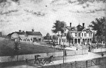Garfield Lawnfield house from 1880