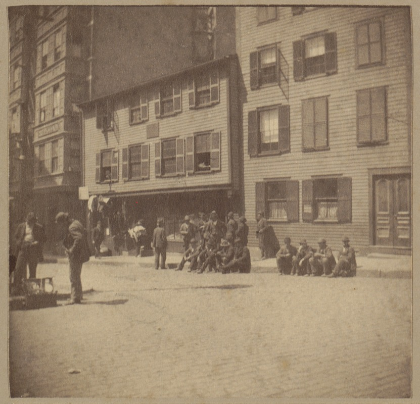 Paul Revere in disrepair at the end of the 19th Century