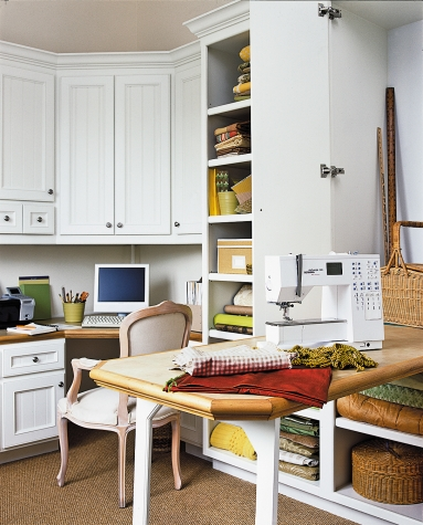 Office/hobby room in 1,225-sq.-ft. Cottage-style home in California