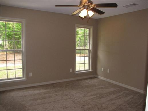 Photo of a finished home's interior - before furniture arrives.