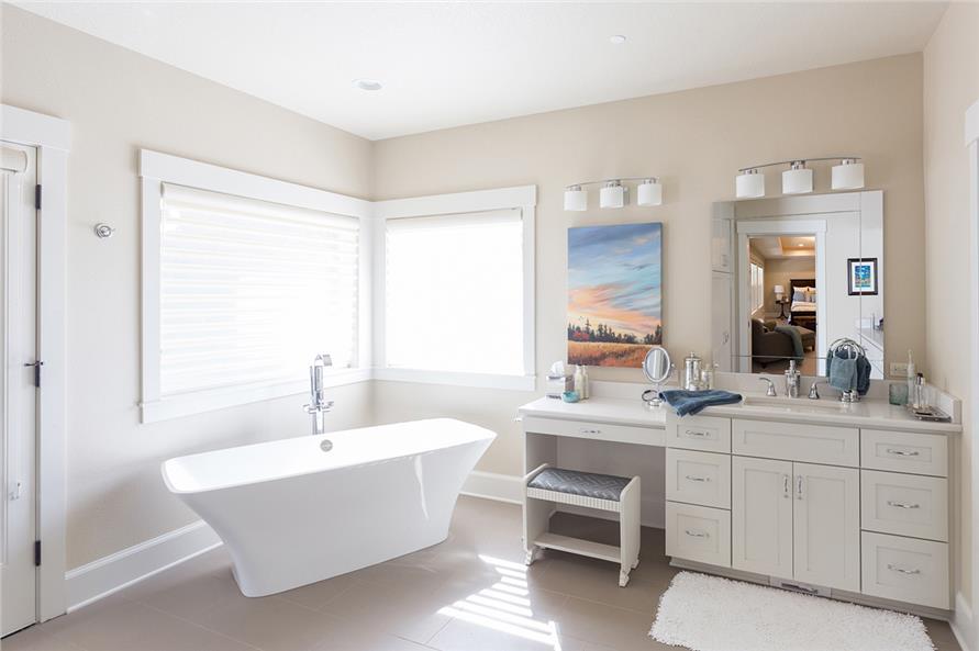 Attractive Bathroom Built Ins