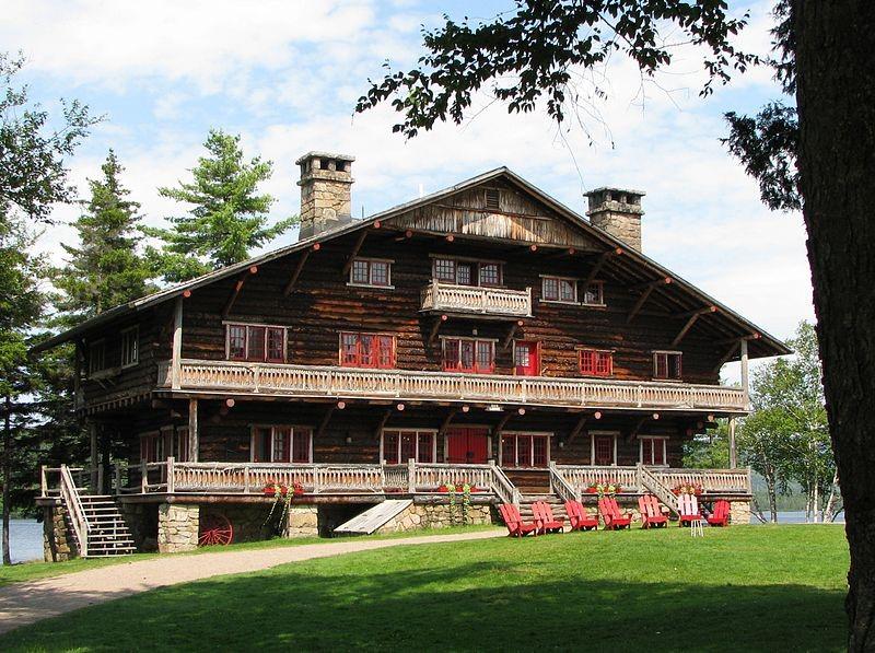 Main Lodge at Camp Sagamore in the Adirondacks