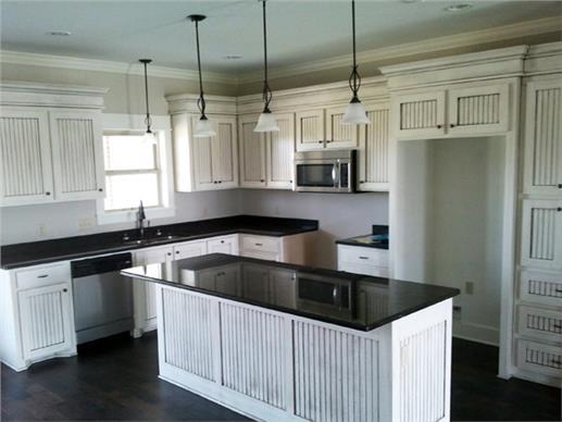 Photo of Luxury Kitchen with kitchen island.